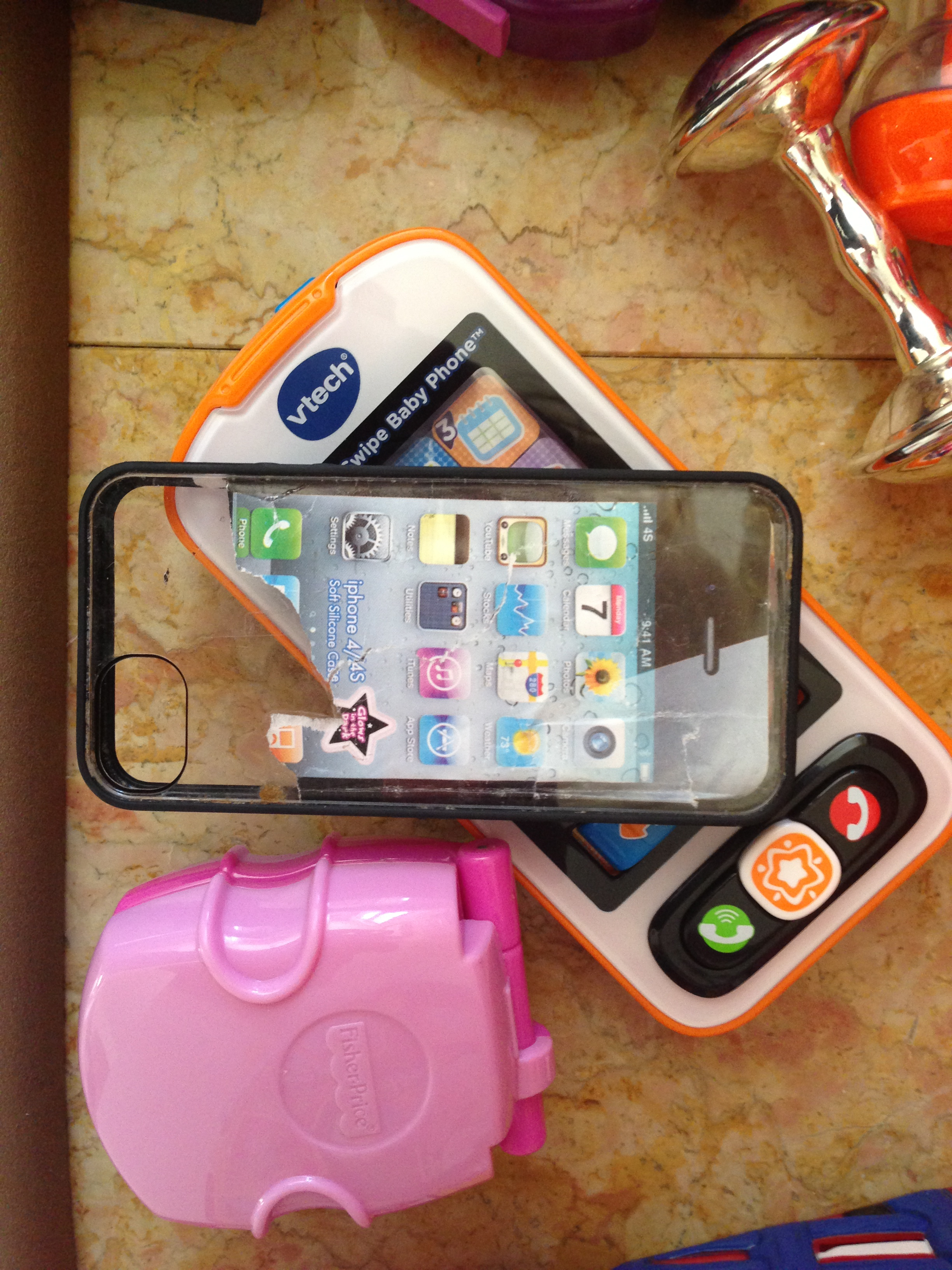 Today's Hint: How to Make an iPhone for Babies & Toddlers ...