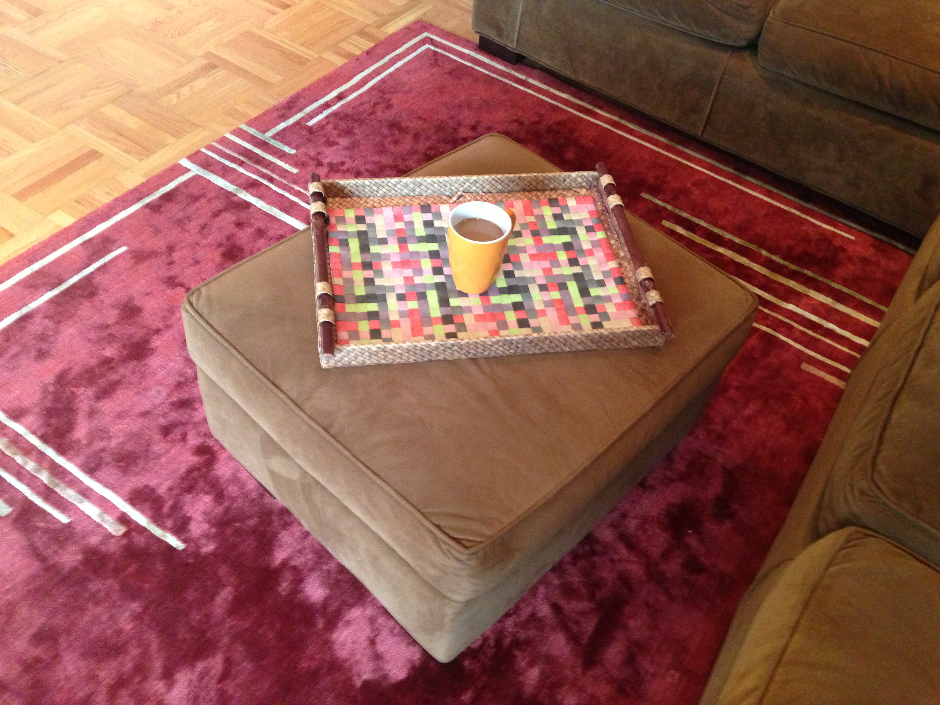 "Today's Hint: A More Child-Friendly Coffee ""Table"""