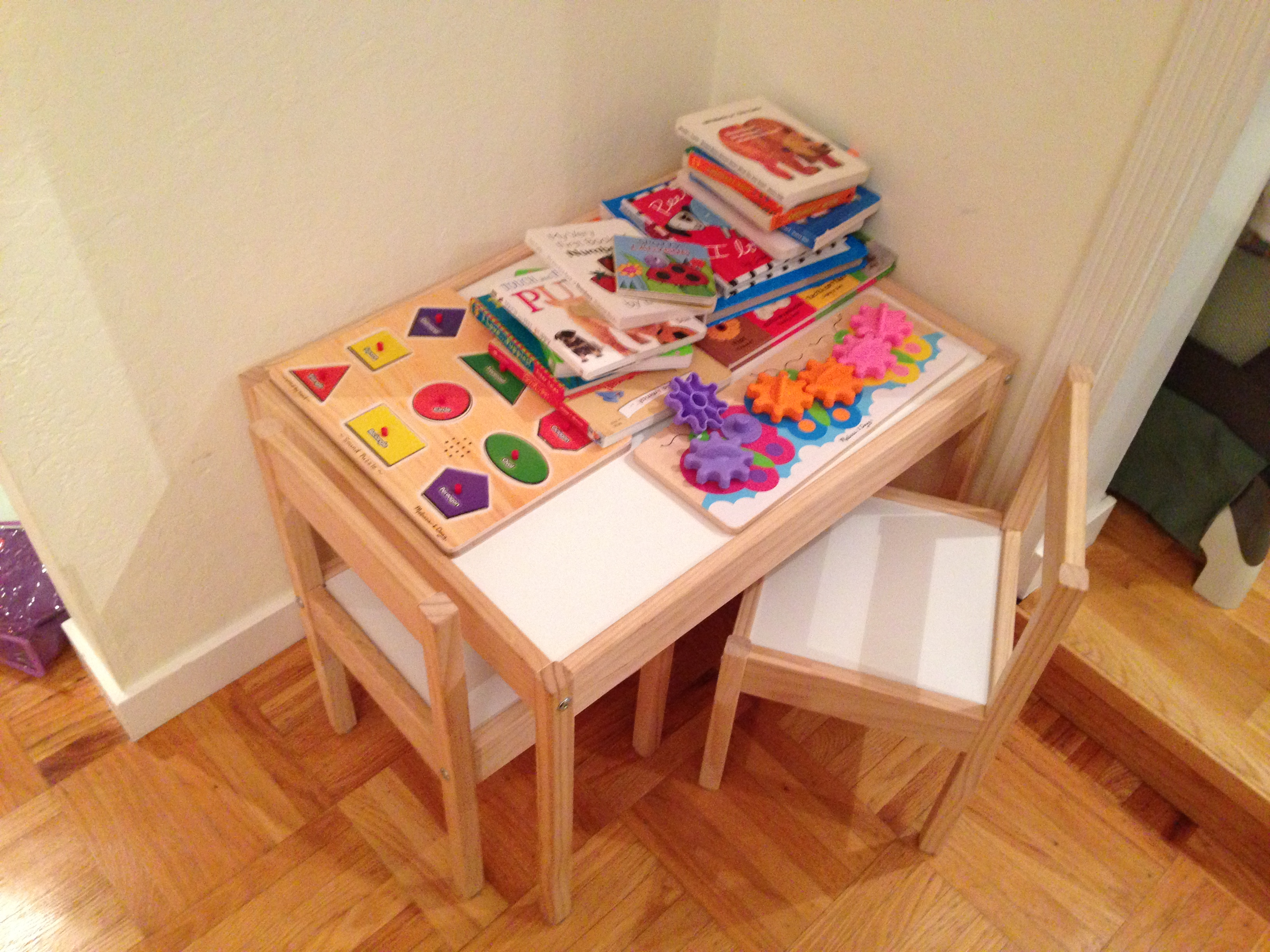 Ikea kids table and chairs - Today S Hint The Best Little Table For Toddlers