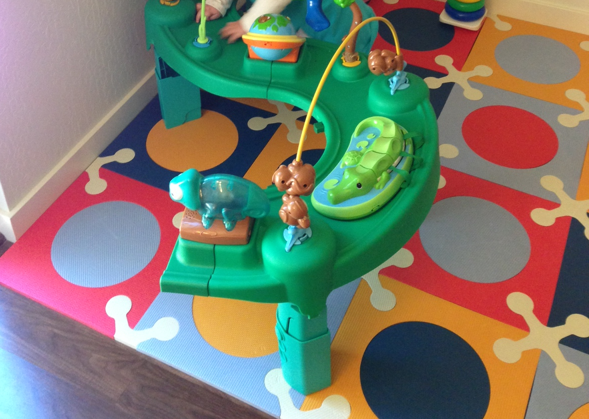 Today's Hint: Exersaucer or Jumperoo? The One to Get
