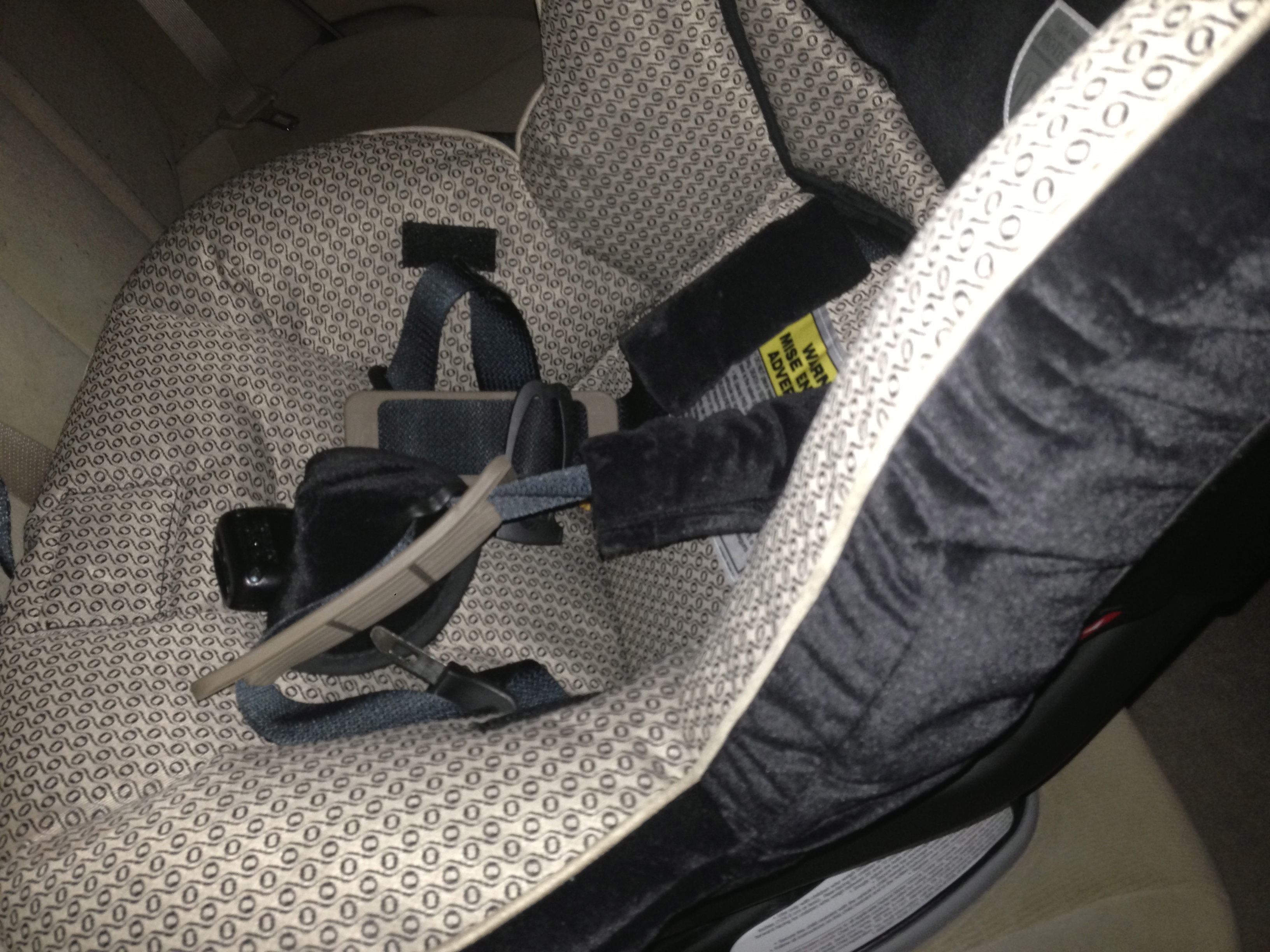 Today's Hint: 3 Tricks for Untangling Car Seat Straps
