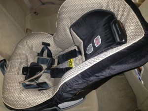 Avis Car Rental Infant Seat