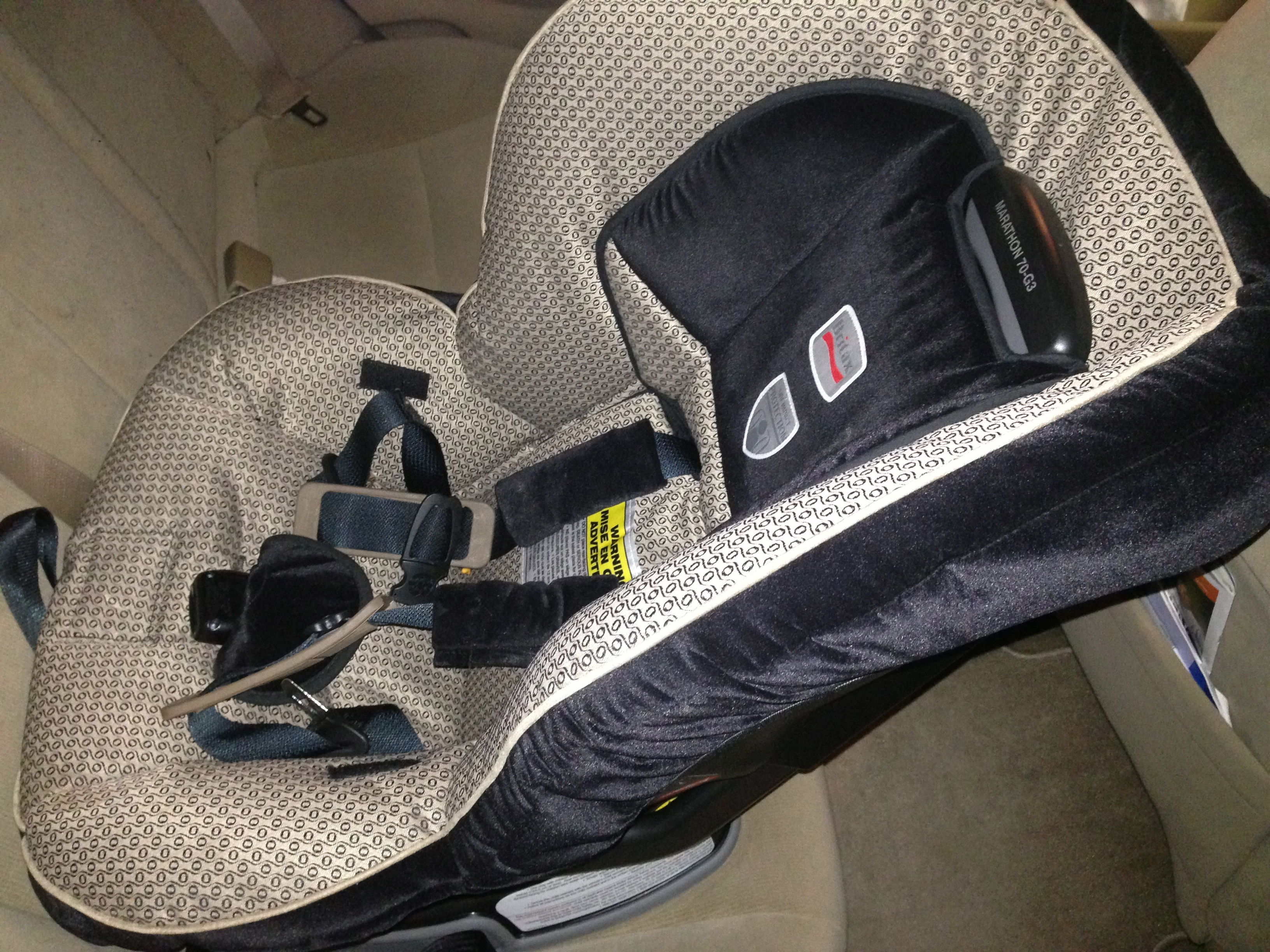 Instead of Renting a Car Seat, Check it