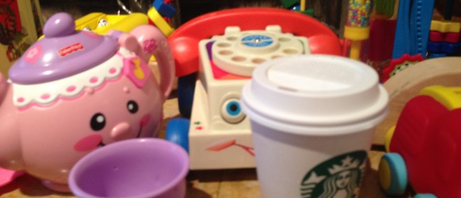 Today's Hint: A Free (Play) Coffee Fix for the Toddler Set