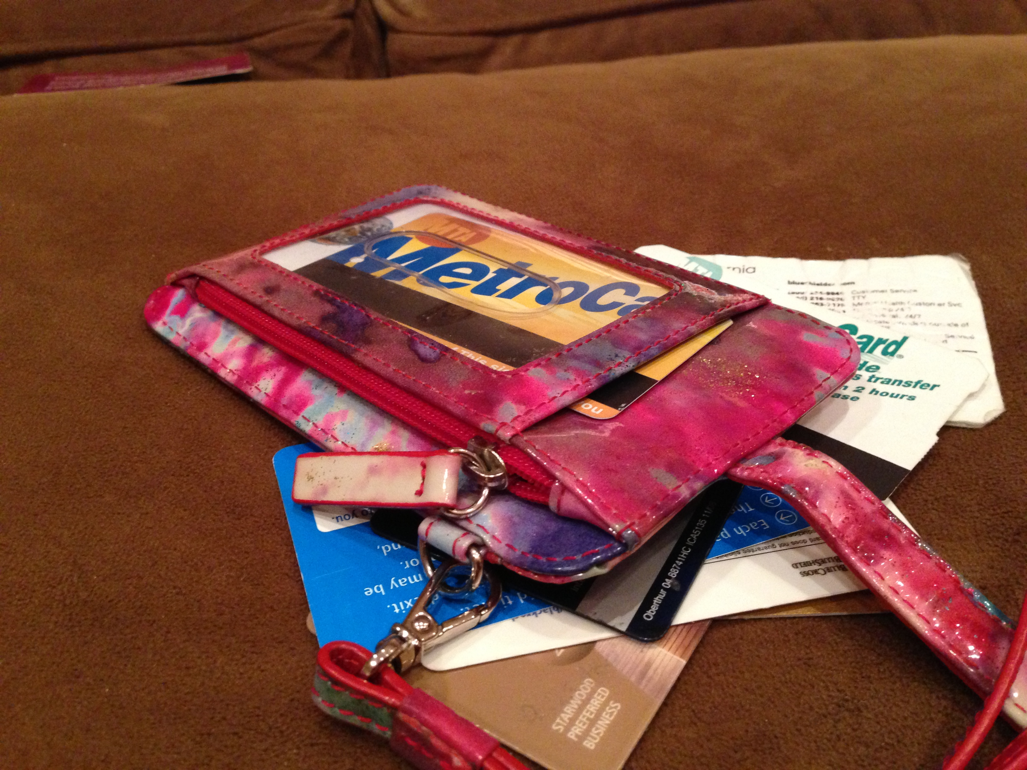 Today's Hint: Upcycle Your Old Wallet & Cards into a Toddler Wallet Toy