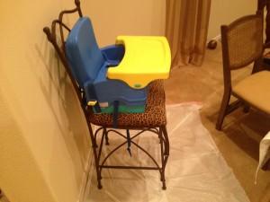 Today's Hint DIY Disposable High Chair Splat Mats – Hint Mama