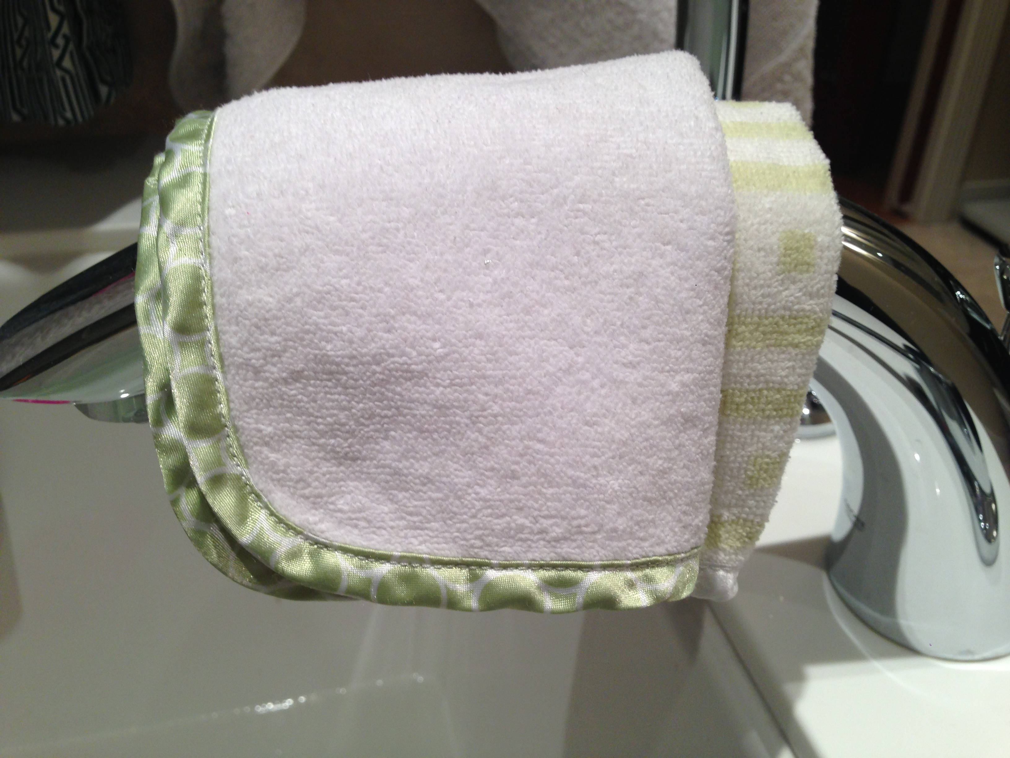 Today's Hint: How to (Frugally) Keep Eyes Dry During Bath Time