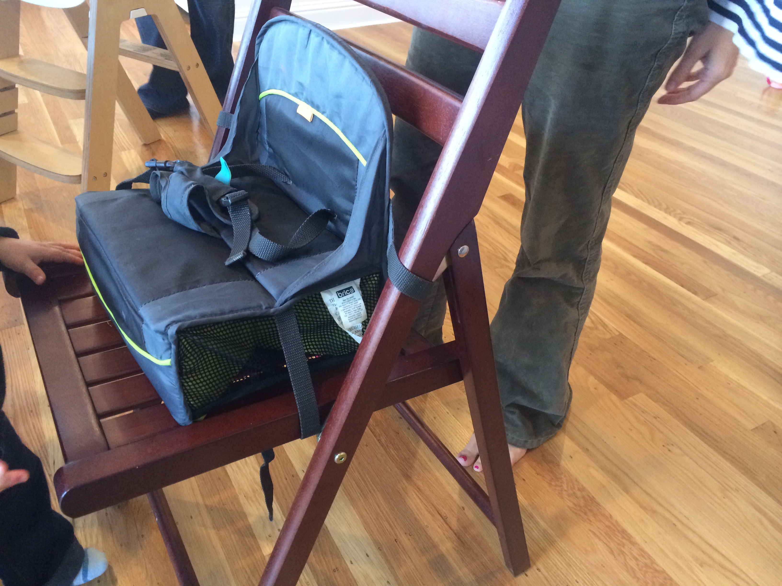 IMG_3449. The Brica booster seat & Todayu0027s Hint: A Great (and Cheap) Travel u201cHigh Chairu201d u2013 Hint Mama
