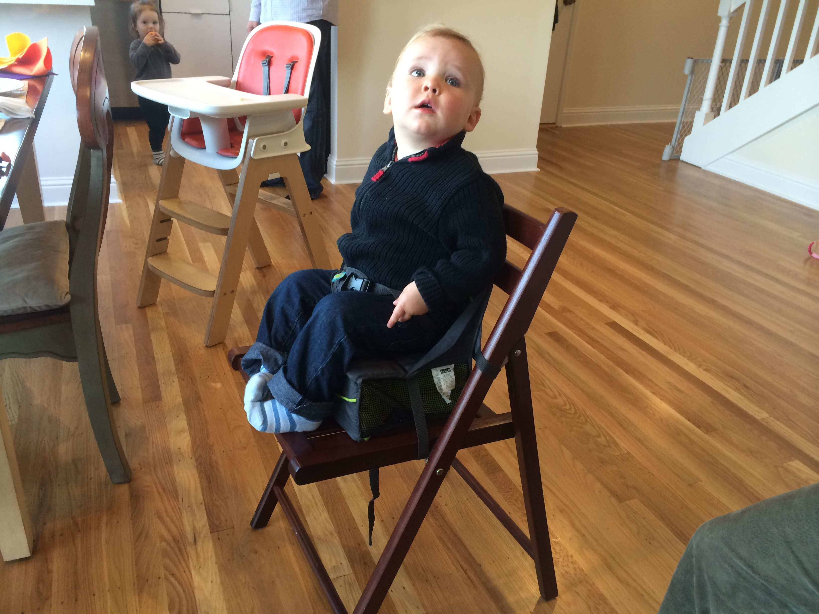 Today S Hint A Great And Cheap Travel High Chair