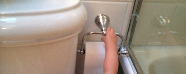 Today's Hint: 5 Tips for Teaching Bathroom Etiquette During Potty Training