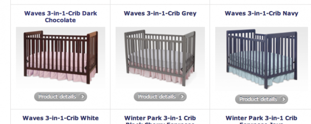 Today's Hint: The Crib to Get & Crib GIVEAWAY