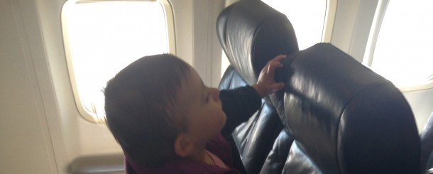 Today's Hint: The Seats to Book When You're Flying With a Lap Baby