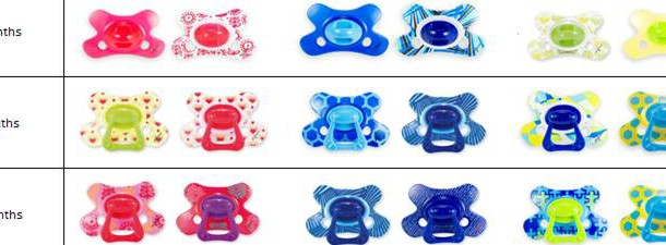 Today's Hint: Pacifiers Designed to Break the Paci Habit