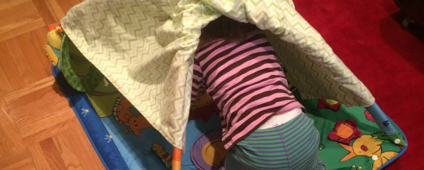 Today's Hint: Turn Baby Gyms into Toddler Forts