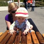 My first Mother's Day at the Bay Area Discovery Museum.