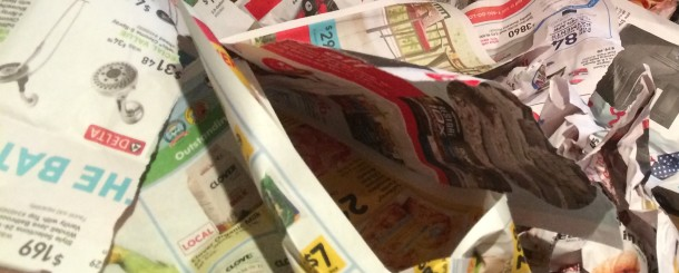 Today's Hint: Save Those Weekly Ad Circulars for Playtime