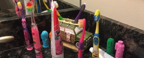 Today's Hint: Toothbrushes That Encourage Brushing